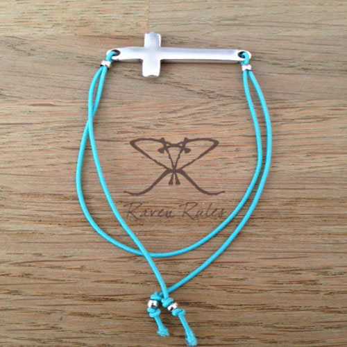 Raven Rules Silver Cross Turquoise2