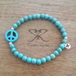 Raven Rules Peace Turquoise